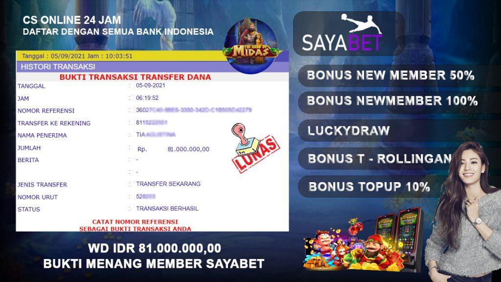 Memperoleh Bonus Slot Online Langsung